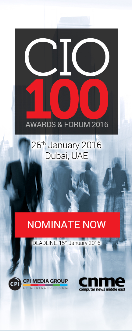 CIO 100 2015 | NOMINATE NOW