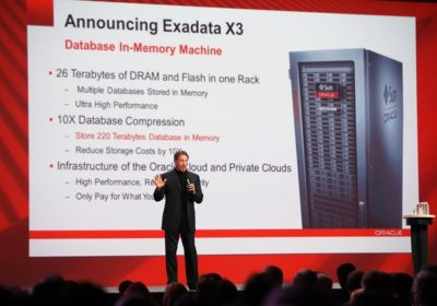 Oracle reveals Exadata X3 Database In-Memory Machine
