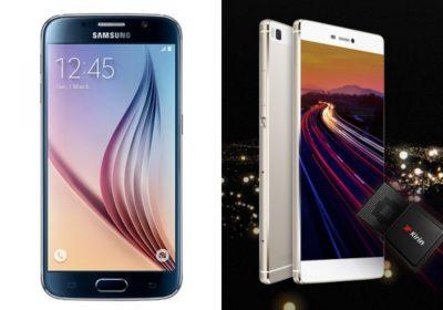 Spec showdown: Samsung Galaxy S6 vs. Huawei P8